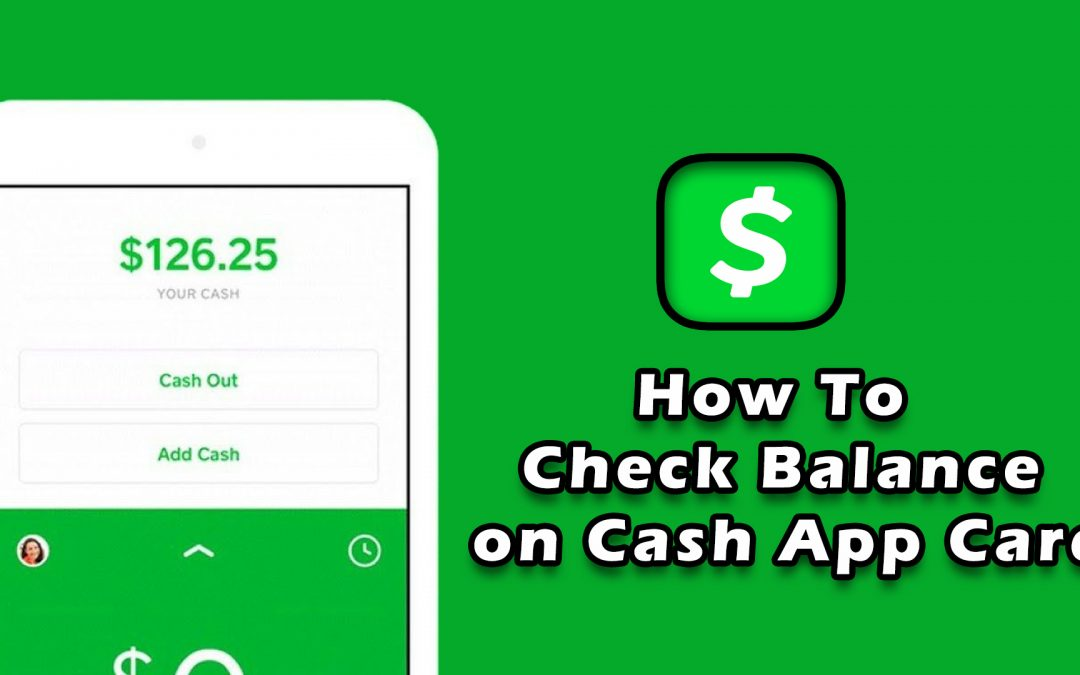 How to Check Balance on Cash App Card