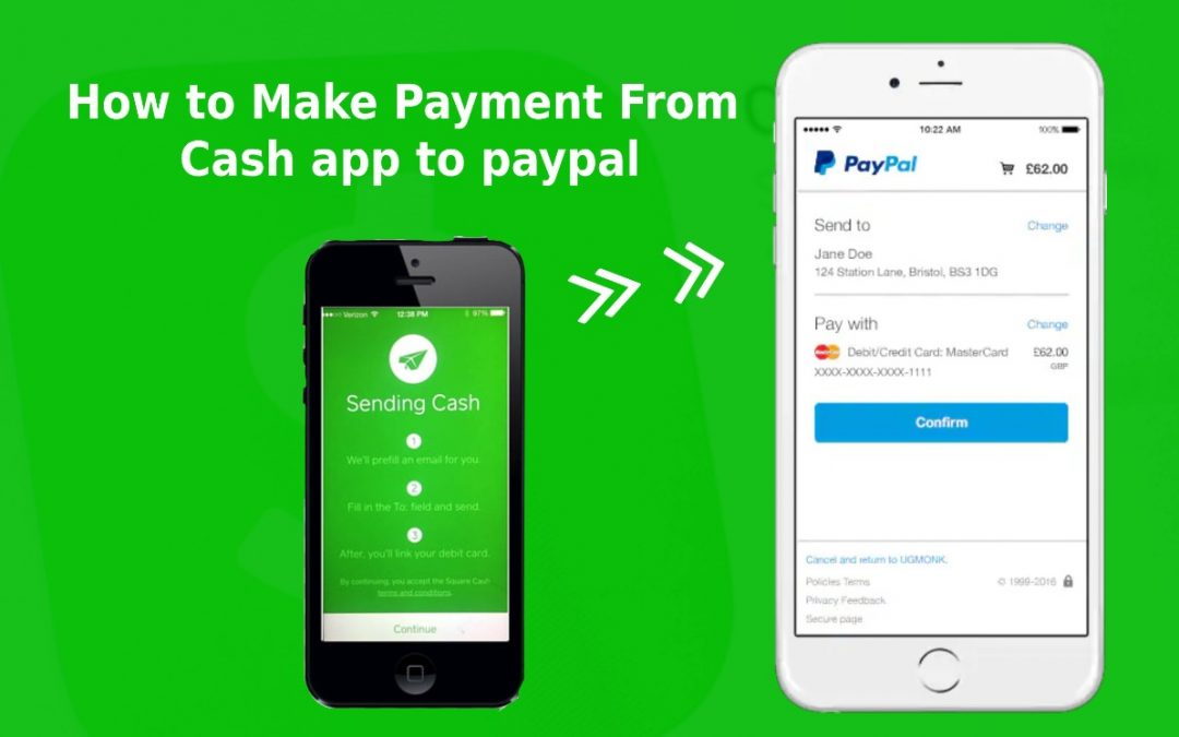 How To Make Payment From Cash App To PayPal