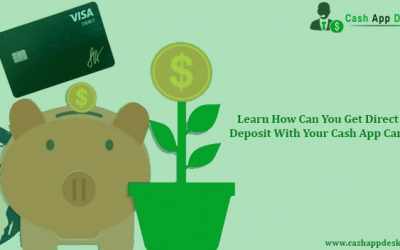 Learn How Can You Get Direct Deposit With Your Cash App Card